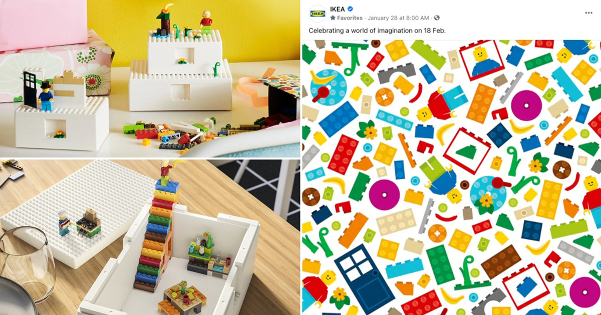 IKEA S'pore to launch LEGO Products on Feb 18, will likely have Storage Boxes & 201-Piece Brick Set