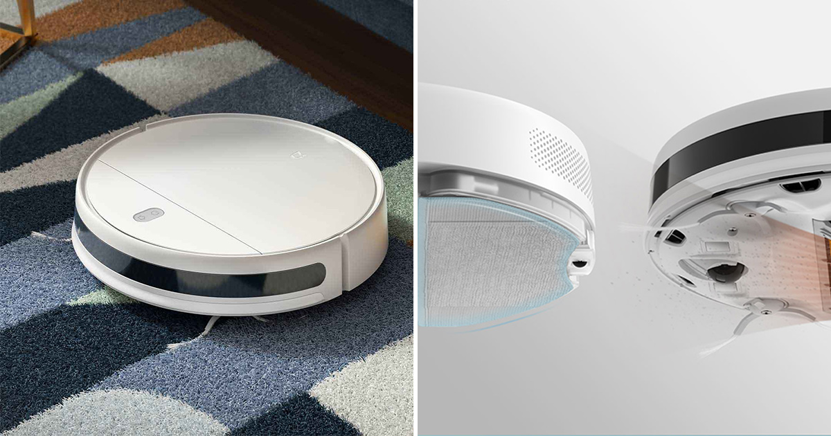 Xiaomi G1 Robot Vacuum Cleaner that sweep & mop available for only S$180 with free shipping online
