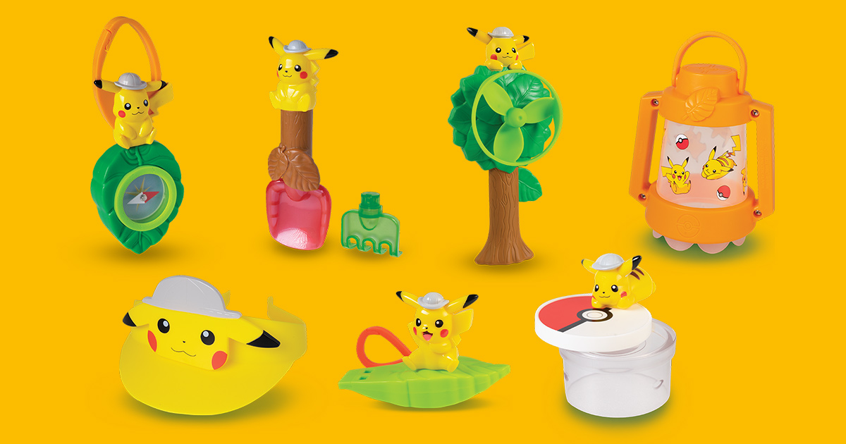 McDonald's S'pore launches Pokémon Happy Meal Toys featuring Pikachu-themed collectibles till Mar 10