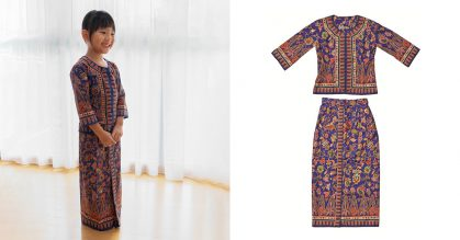 Singapore Airlines selling Junior Sarong Kebaya Cabin Crew Uniform for kids at S$75 per set