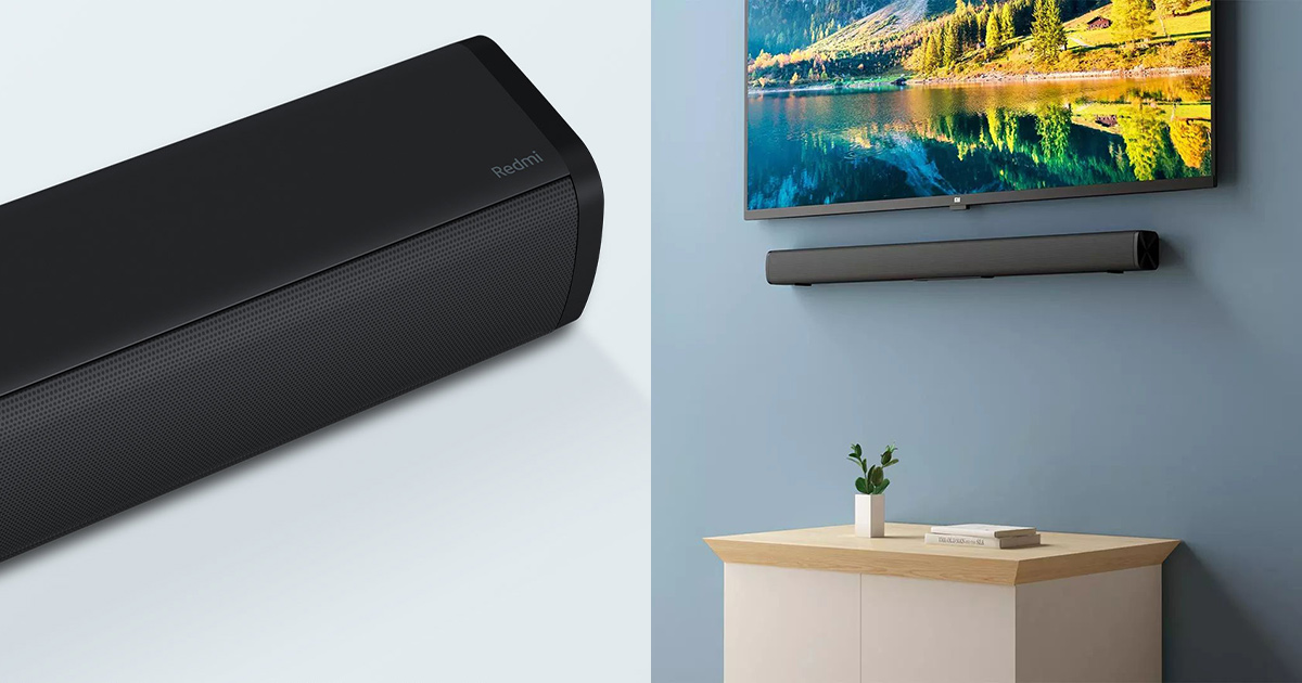 Xiaomi TV Soundbar with Bluetooth 5.0 available at only S$29.90 online, even comes with 1 year warranty