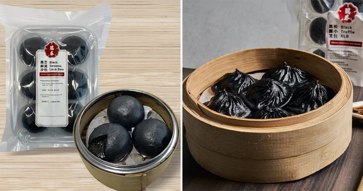Swee Choon has Black Sesame Lava Bun and Truffle Xiao Long Bao you probably didn't know about