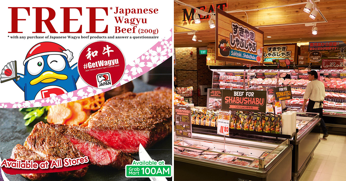 Don Don Donki stores giving away 200g of Wagyu Beef for FREE till Mar 31, here's how to redeem yours