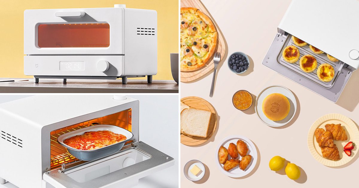 Xiaomi launches compact 12-litre Smart Steam Toaster Oven that can even cook steaks & kebabs
