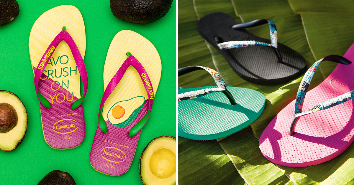 Havaianas S'pore having End of Season Sale from Mar 25 – 31, has footwear with prices as low as S$25
