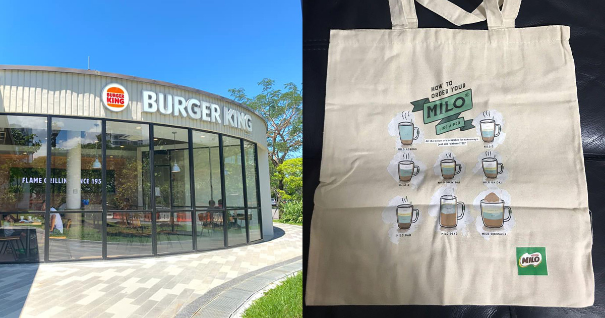 Burger King opens new outlet at Coastal PlayGrove, gives away FREE MILO Tote Bag with Meal Upgrade