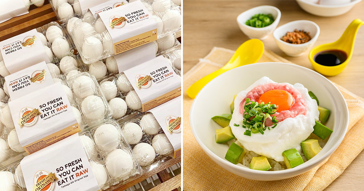 Tamago-EN giving away 6,000 Okinawa Eggs for FREE in celebrating new menu launch at all outlets in S'pore