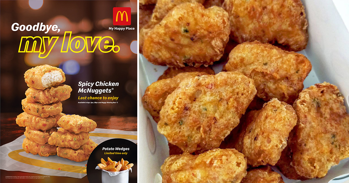 Spicy McNuggets are going away soon, McDonald's to offer 50% OFF 9pc Meals from Apr 12