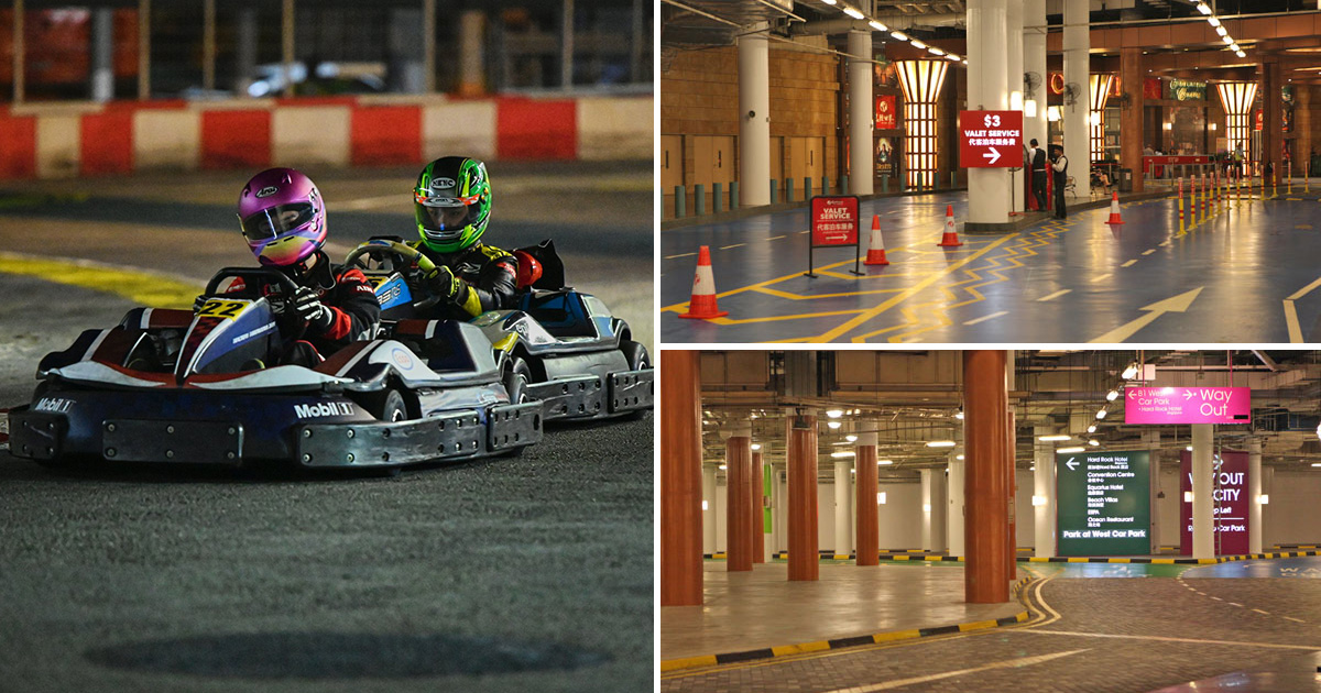 S'pore's first-ever Indoor Karting Circuit available at RWS Carpark in Sentosa from Apr 2