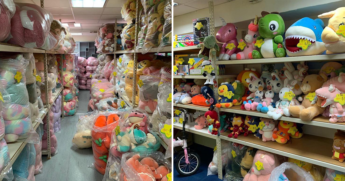 Carnival Toys Clearance Sale in Bedok till Apr 4 has Disney & animal-themed plushies up for grabs from $1