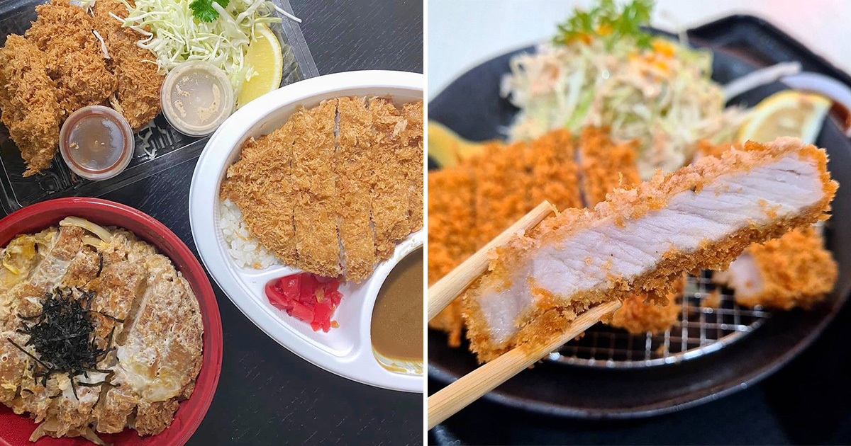 Japanese food stall in Punggol has restaurant-quality 'Black Pig' Donburi, Tonkatsu & Curry Rice from under $10
