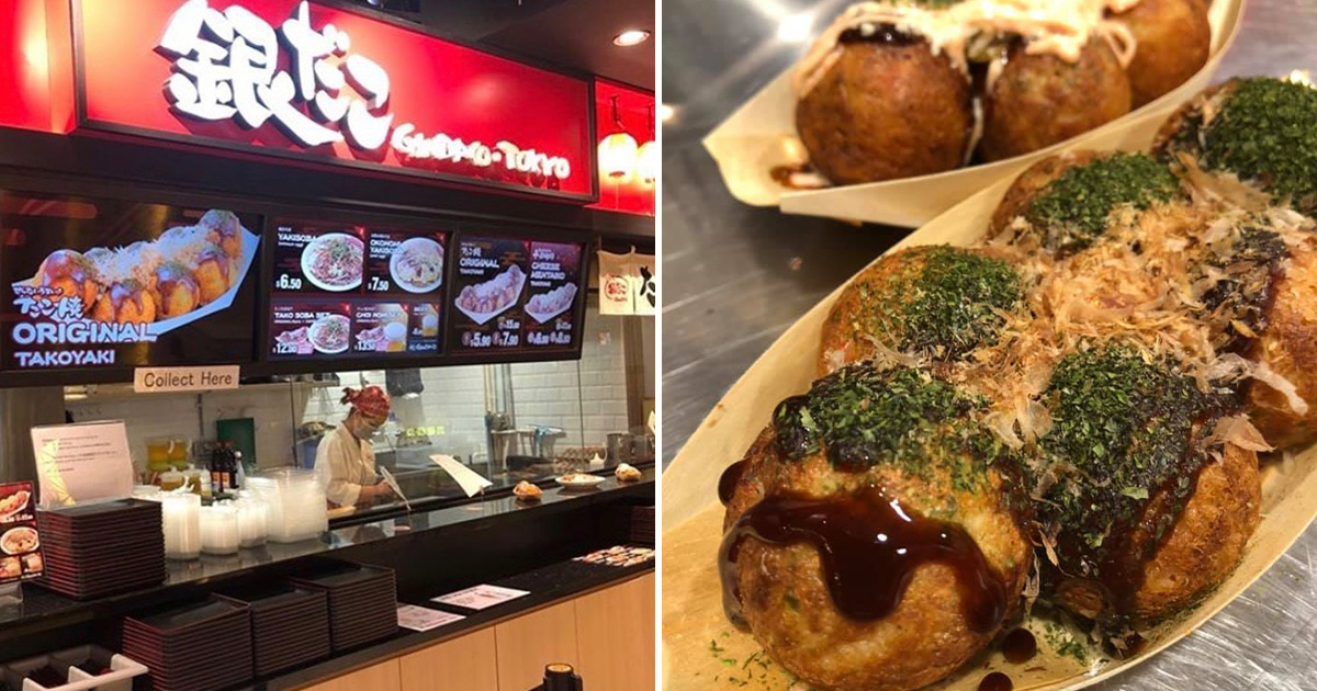 Japan famous Takoyaki chain Gindaco opens in ION Orchard, enjoy hot & crispy octopus balls in town