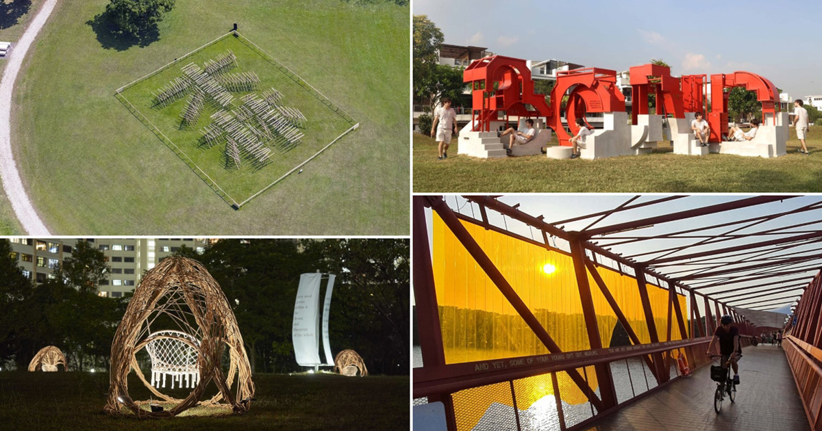 14 text-based artworks are distributed across parks from east to west in S'pore, here's where to find them all