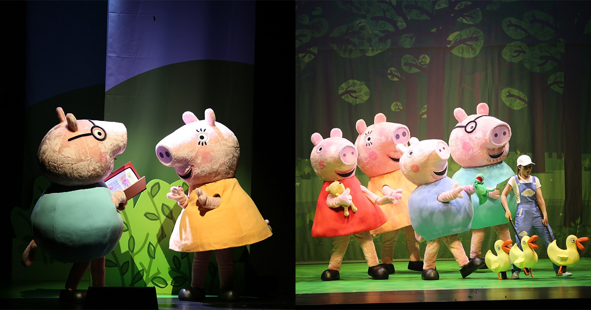 Peppa Pig Musical coming to S'pore in June 2021, held in Esplanade with tickets from S$78