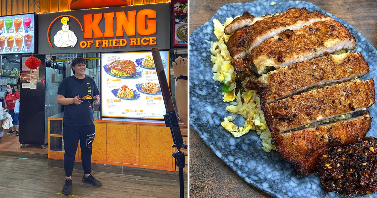 King of Fried Rice opens 4th outlet in Bedok Central, serves same affordable DTF-style fried rice dishes