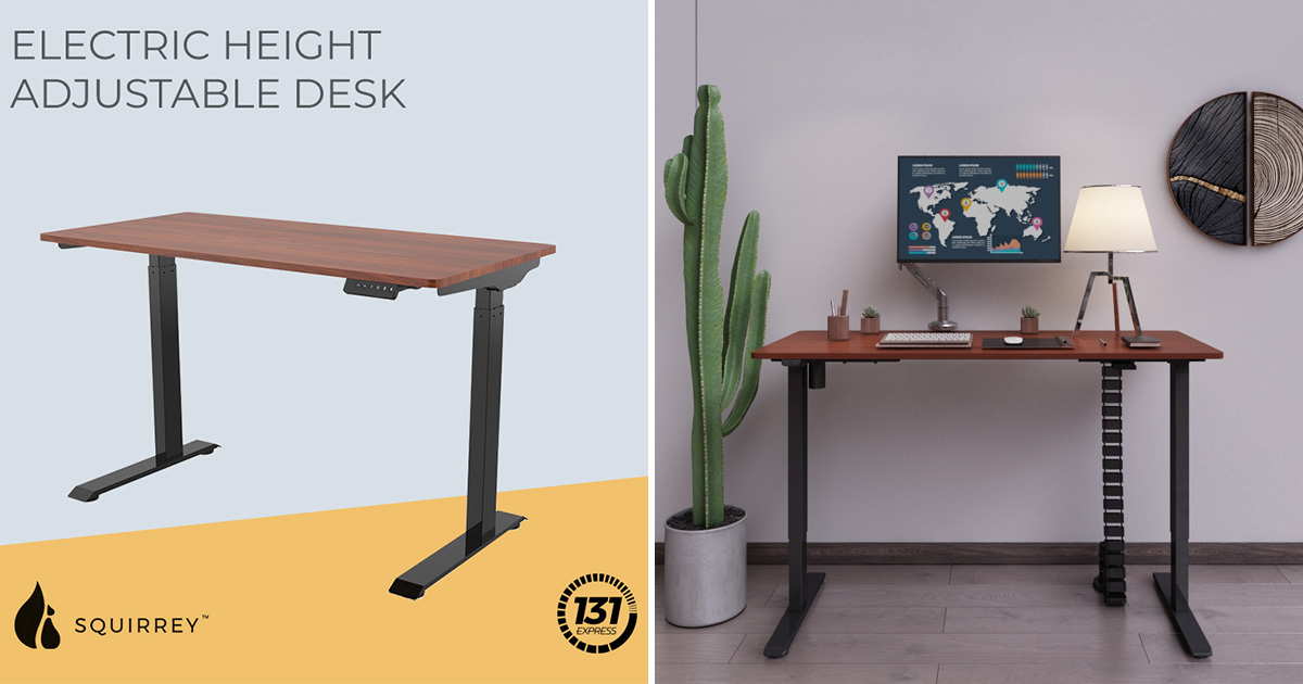 Xiaomi crowdfunded 1.2m Electric Height-Adjustable Table selling at S$328 with free shipping included