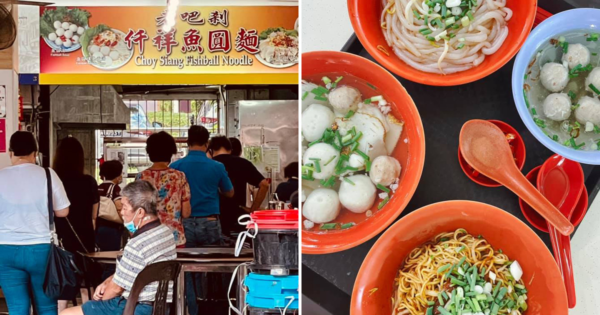 40-year-old Teochew Fishball Noodles Stall in AMK closing in end-May, has at least 30min waiting time
