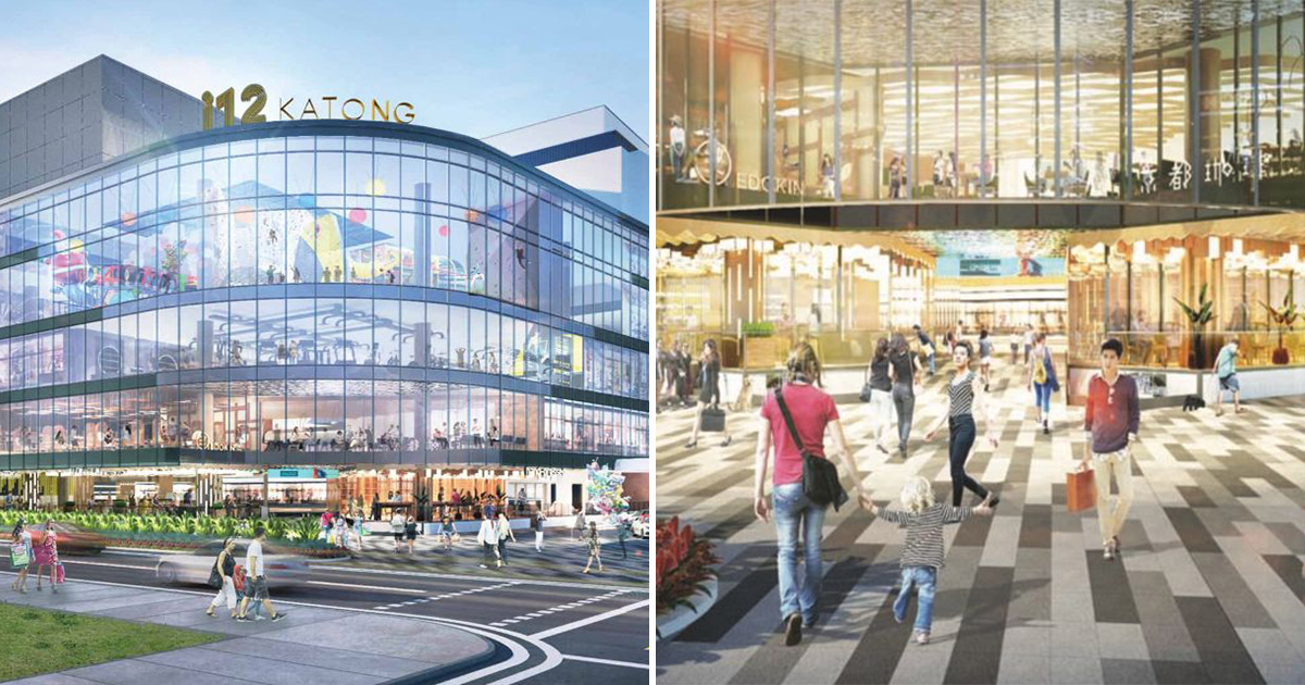 Newly-revamped i12 Katong Mall to reopen in Q4 2021, will have Scoop Wholefoods, PS Café, Climb Asia & more