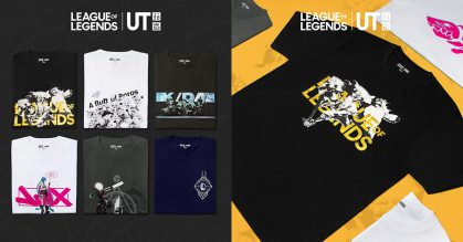 UNIQLO launching League of Legends (LOL) Graphic T-Shirts in S'pore soon, has 6 designs to choose from