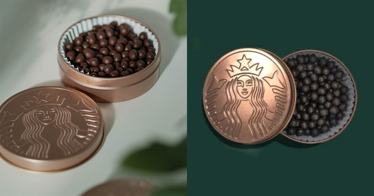 Starbucks S'pore selling Cocoa Crispy Cereal Mini Balls you can add to cakes, bbt or eat it on its own