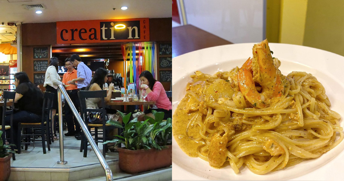 20-year-old Pasta Cafe formerly from Shaw Tower relocated to Bugis Cube, serves delicious & affordable pasta dishes