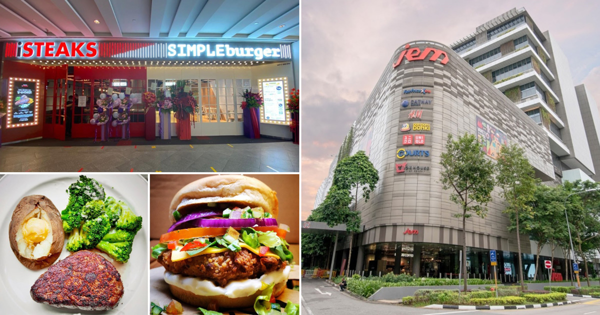 iSTEAKS and SIMPLEBurger now open in Jem, lets you enjoy juicy steaks & thick burgers in one place