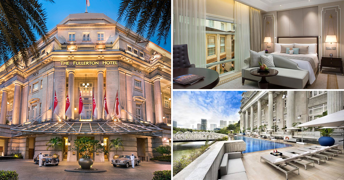 The Fullerton Hotel has 1-FOR-1 Staycation on Suites & Rooms from S$205 per night for stays till Dec 30