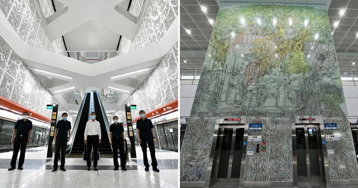 Here's a sneak preview of upcoming MRT stations along Thomson-East Coast Line opening later this year