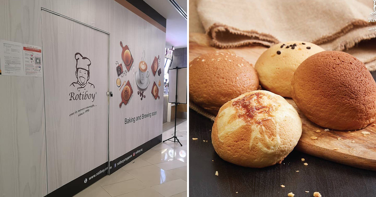 Famous coffee bun bakery Rotiboy back in S'pore after 15 years, opening soon in KINEX Mall