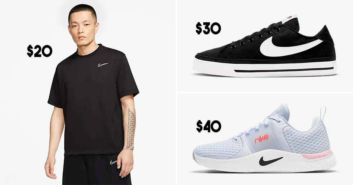 Nike S'pore Online Store having up to 50% on hundreds of sneakers & sportswear till May 25