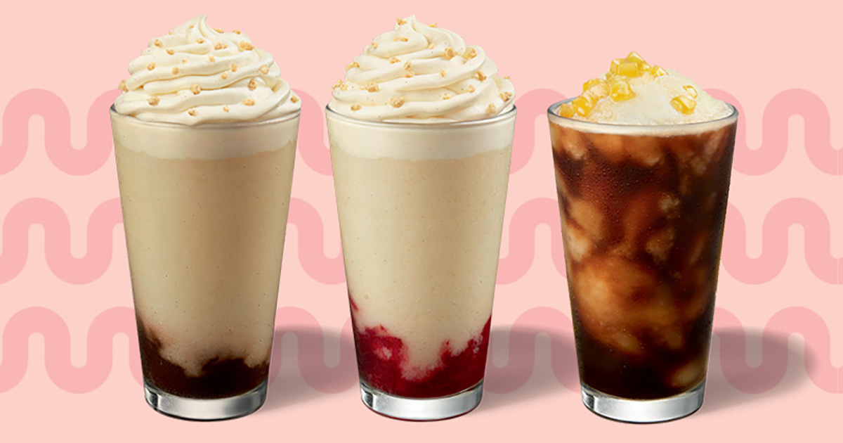 Starbucks S'pore new Summer Drinks available from Jun 2, has Chocolate, Strawberry & Pineapple flavours