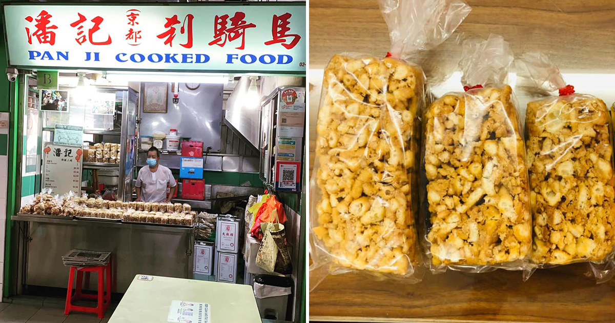 60-year-old Sachima Snack Stall in Chinatown struggling due to pandemic, netizen appeals for support
