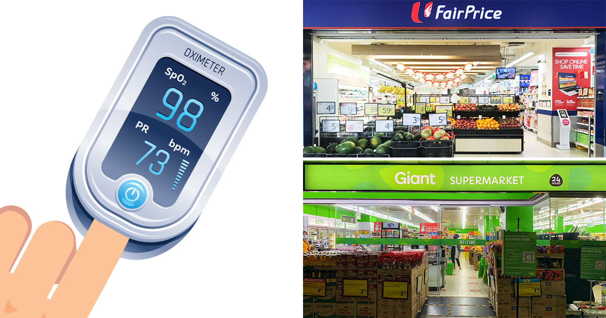 Temasek Foundation giving FREE Oximeter to all S'pore households, here are the dates & locations to take note