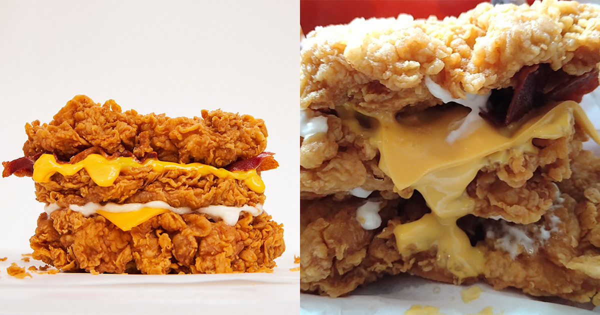 Final chance to enjoy Cheesy Zinger Double Down as KFC says last day will be on Jul 8