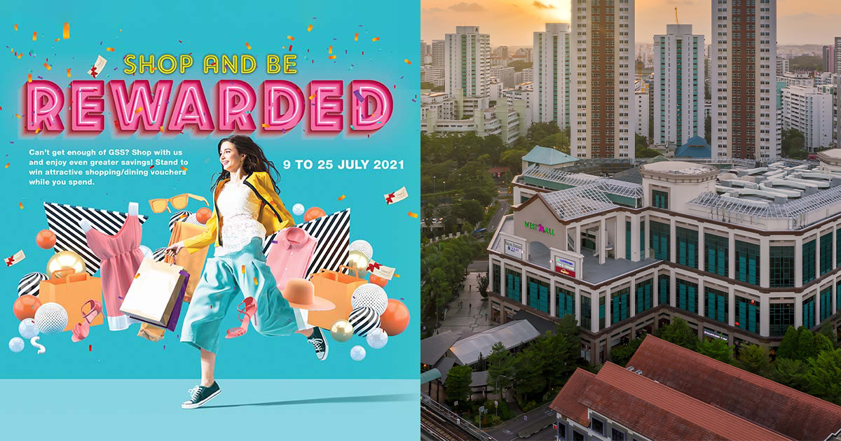 Win FREE shopping & dining vouchers with West Mall Sure-Win Draw Promotion till Jul 25