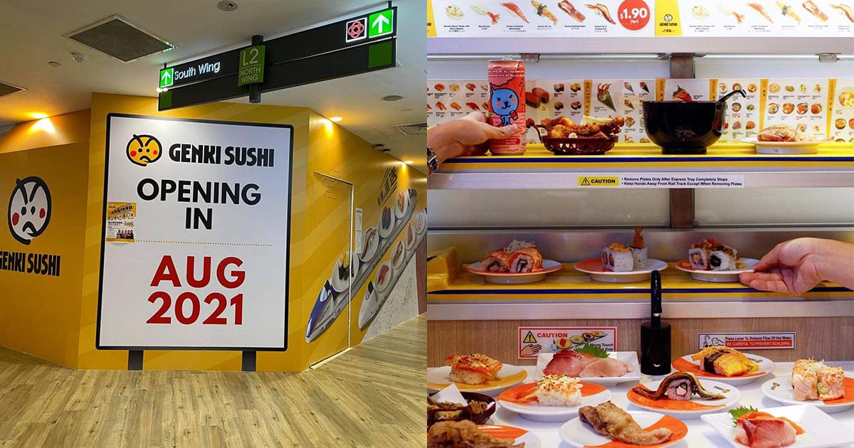 Conveyor belt sushi restaurant Genki Sushi latest outlet in Northpoint City to open this August