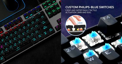 Philips made a RGB Mechanical Keyboard and it's selling for less than S$30 online for a limited time
