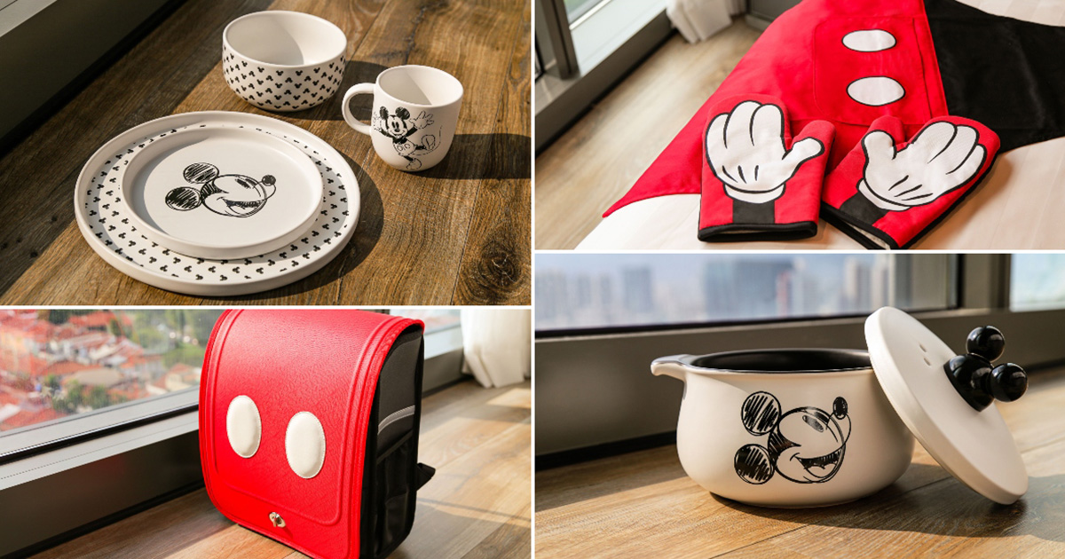 FairPrice confirms Disney Mickey Mouse Collection, available from Jul 29 with point redemption