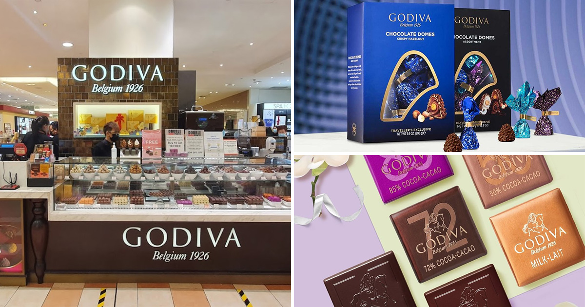 GODIVA has 1-FOR-1 Chocolate Biscuits, Domes & Carré at all S'pore stores till Aug 8