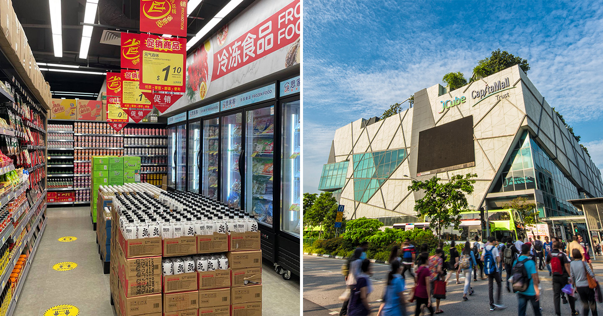 Scarlett Supermarket (思家客) opens 6th S'pore outlet in JCube, operates 24 hours daily