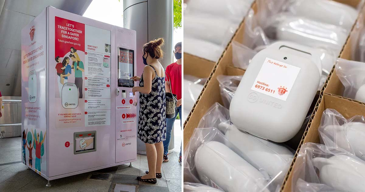 TraceTogether Token Vending Machines available from Jul 26, lets users replace old & faulty ones