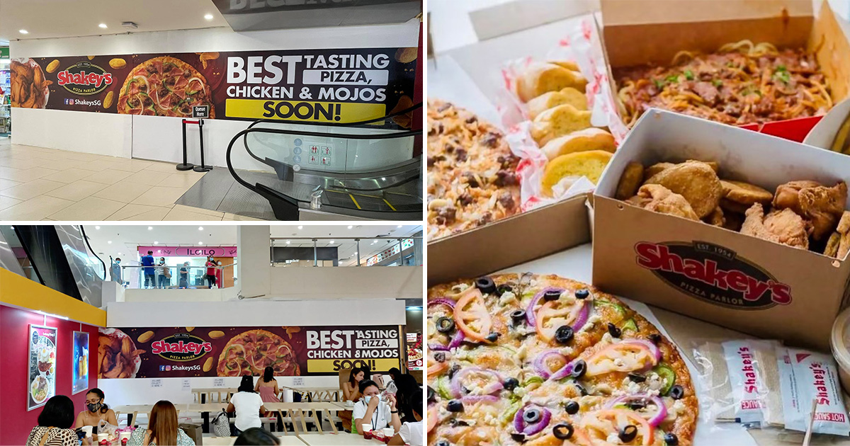 Pinoy-famous Shakey's Pizza is coming to S'pore with 1st outlet opening in Lucky Plaza