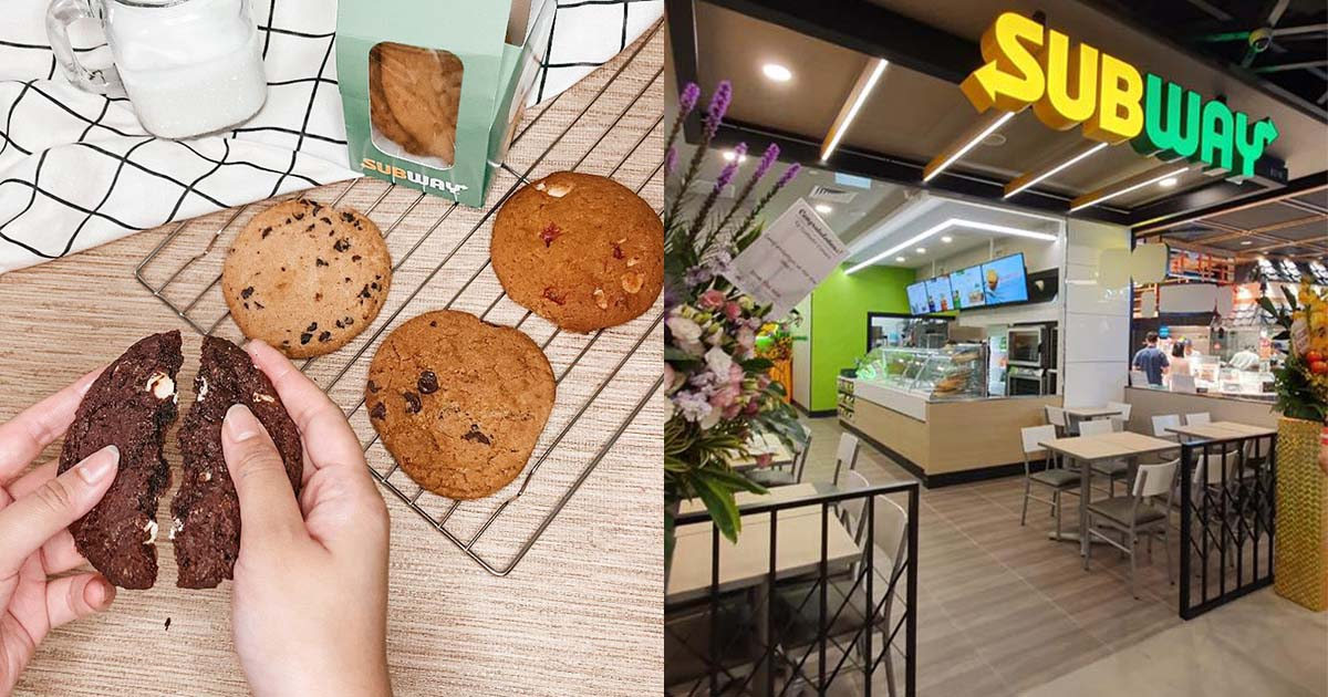 Subway S'pore now offering 6pc Cookie Deal for only $5.60 till Aug 10 thanks to National Day
