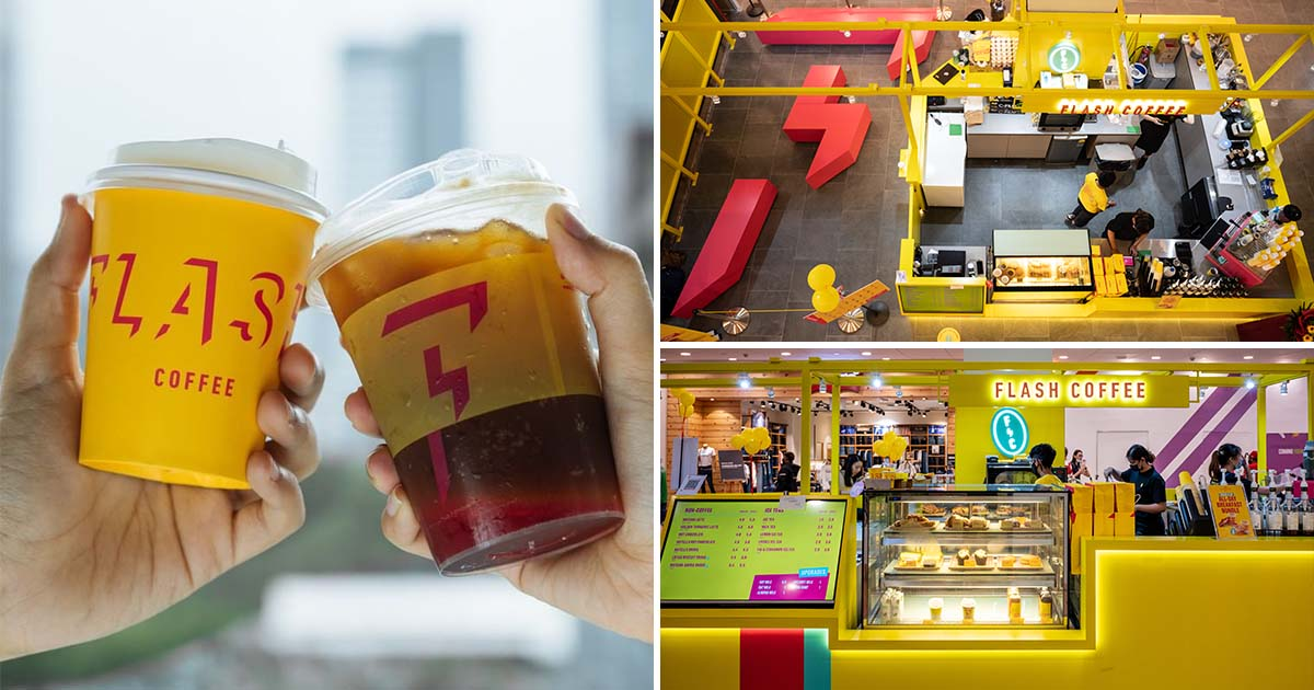 Flash Coffee Jurong Point opens with 1-FOR-1 Promotion till Aug 8, has Melaka Latte, Nutella Shake & more