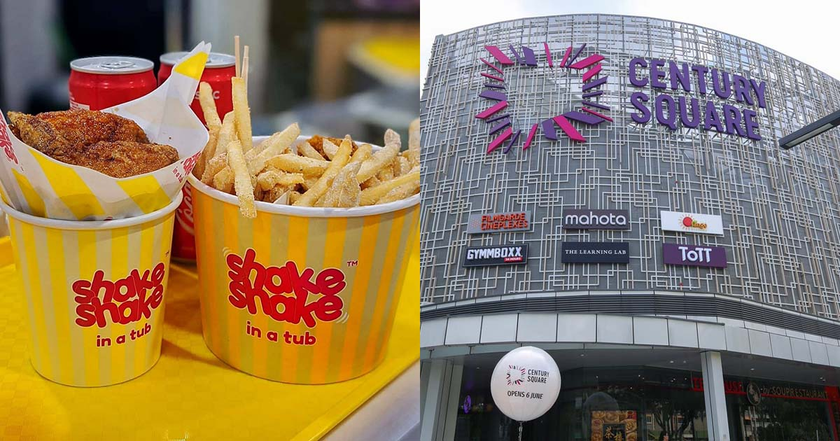 Shake Shake in a Tub opens in Century Square with crazy $1 Fries & Wings Promotion on Aug 5 & 6