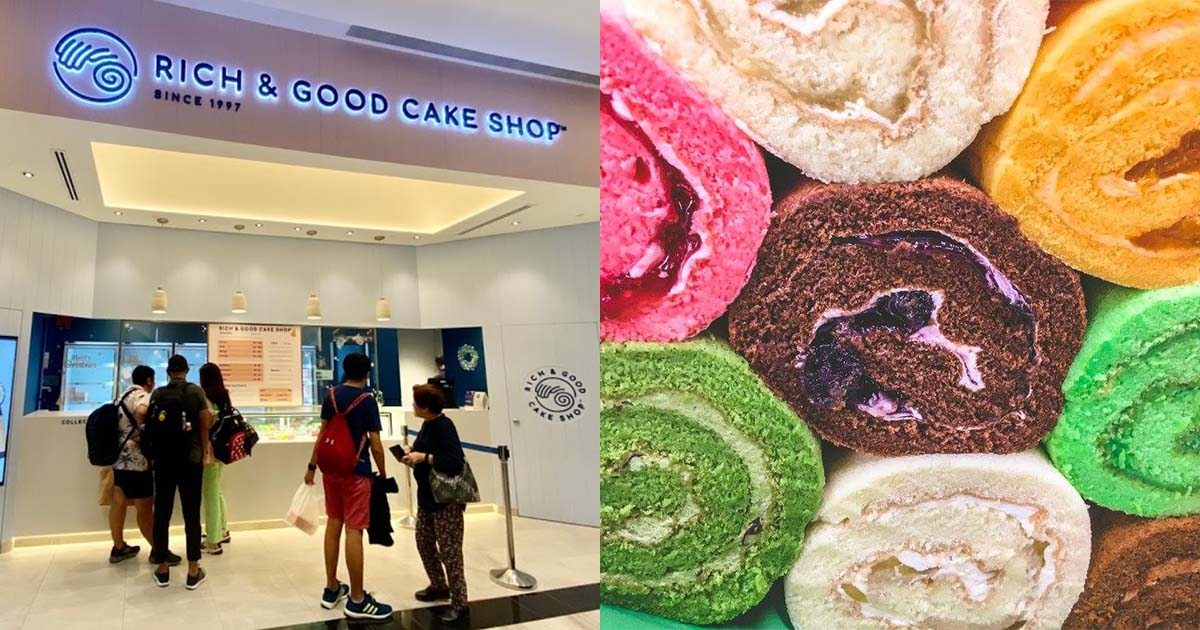 S'pore-famous Rich and Good Cake Shop goes online, delivers your favourite Swiss Rolls from $9