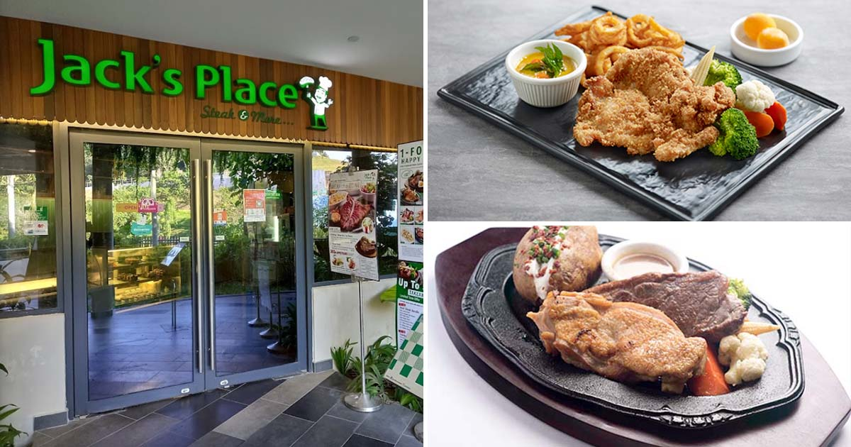 Jack's Place relaunches 1-FOR-1 Happy Hour Promotion on 16 main dishes for a limited time this August