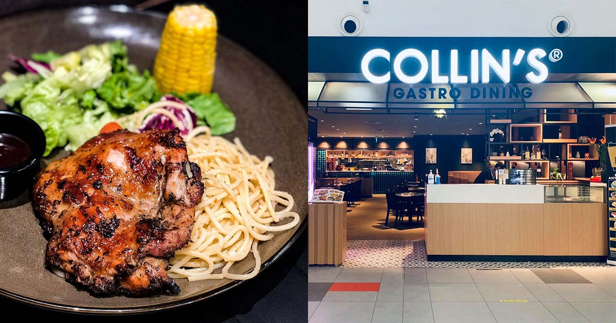 COLLIN'S restaurants are having 1-FOR-1 on Signature Grill & Seafood Mains from $11 nett for a limited time