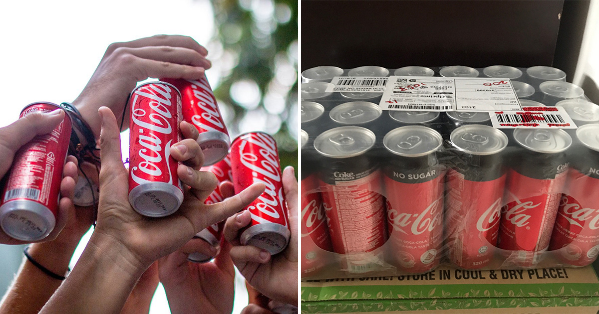 Coca-Cola 24-can Carton Sale from Official Online Store means you pay around $0.40 per can