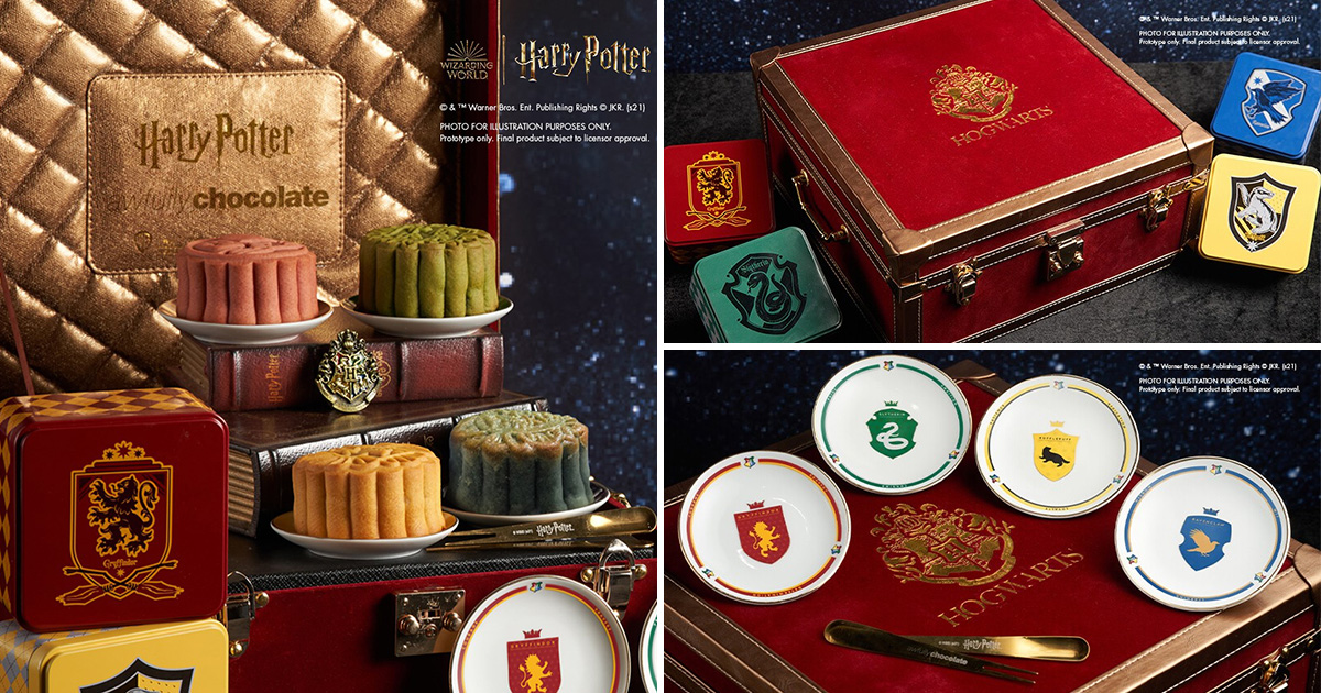 Awfully Chocolate unveils World's 1st Official Harry Potter Mooncake Collection from $128